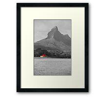The Volcano Keeper's House Framed Print