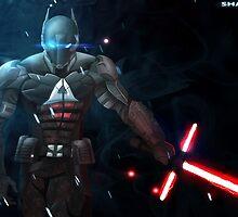 Arkham Knight: The Force Awakens  by Shamserg