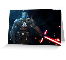 Arkham Knight: The Force Awakens  Greeting Card