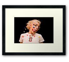 jelly bean baby Framed Print