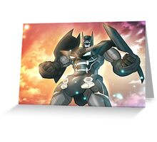 Bat Gurren Lagann Greeting Card