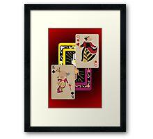 Voodoo Villains- Royal Court Framed Print