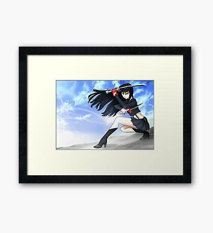 Kill La Kill - Satsuki Framed Print