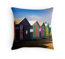 Bathing Boxes Throw Pillow