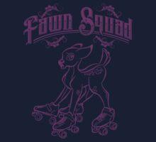 Fawn Squad - purple Kids Tee