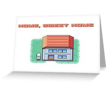 Home, Sweet Home (Fire Red) Greeting Card
