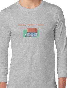 Home, Sweet Home (Fire Red) Long Sleeve T-Shirt
