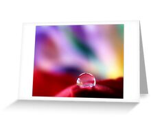 A red bubble....? Greeting Card