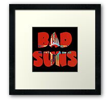 Bad Suns Language And Perspective Framed Print