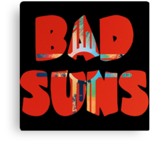 Bad Suns Language And Perspective Canvas Print