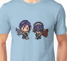 Pixel Chrom and Lucina (Marth) - Fire Emblem : Awakening Unisex T-Shirt