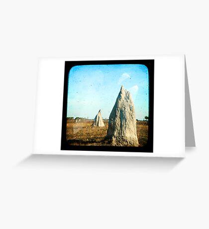 Termite Homes Greeting Card