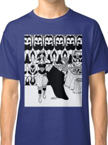 lady with corset Classic T-Shirt