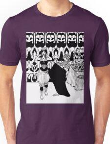 lady with corset Unisex T-Shirt