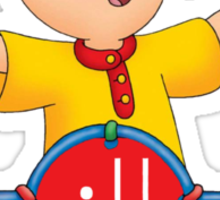 Caillou Swag Sticker