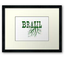 Brazil Roots Framed Print