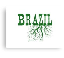 Brazil Roots Canvas Print