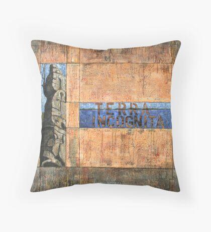 Terra Incognita by Mark Elliot-Ranken Throw Pillow