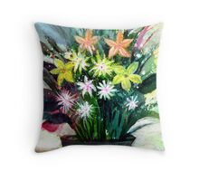 Bouquet 2 Throw Pillow