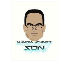 Nanomachines Son Art Print