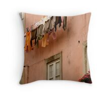 colour-coded? Throw Pillow
