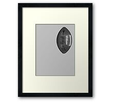 nfl football Framed Print