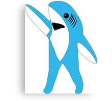 Left Shark Super Bowl Half Time Dancing Shark 2015 Canvas Print