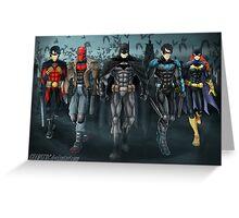 Batfamily Greeting Card