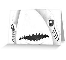 Katy loves sharks. Shark love Katy. Greeting Card
