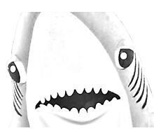 Katy loves sharks. Shark love Katy. Photographic Print