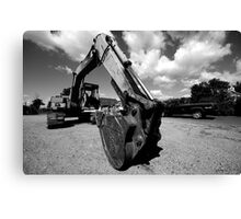 shovel head Canvas Print