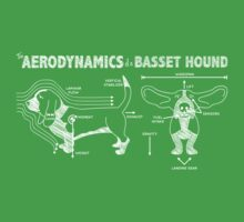 The Aerodynamics of a Basset Hound One Piece - Short Sleeve