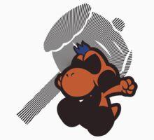 Great Gonzales Jr (Orange) - Sunset Shores Baby Tee