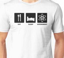 Eat, Sleep, Experiment Unisex T-Shirt