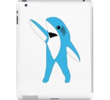Left Shark Super Bowl Half Time Dancing Shark 2015 iPad Case/Skin