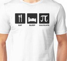Eat, Sleep, Calculate Unisex T-Shirt