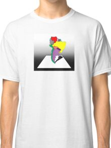 Anamorphic South America Classic T-Shirt