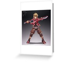 Shulk Greeting Card