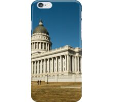 Utah State Capitol Building iPhone Case/Skin
