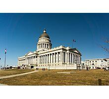 Utah State Capitol Building Photographic Print