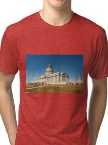 Utah State Capitol Building Tri-blend T-Shirt