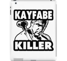 Kayfabe Killer iPad Case/Skin