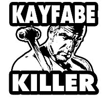 Kayfabe Killer Photographic Print