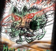 Hellhound #4 by dunlapshohl