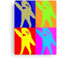 Left Shark Super Bowl POP ART (Warhol) Half Time Dancing Shark 2015 Metal Print
