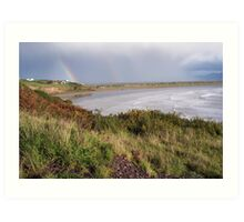 Inch Beach from above Art Print