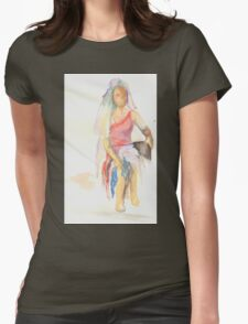watercolor of a woman T-Shirt