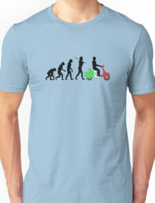 VESPALUTION ITALIAN SCOOTER Unisex T-Shirt