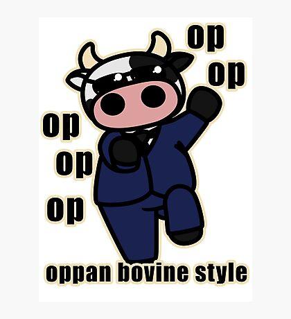 oppan... bovine style? Photographic Print