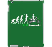 KAWA RIDE DIRT BIKE REVOLUTION  iPad Case/Skin